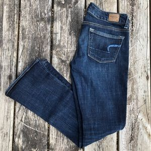American Eagle | Sequined Skinny Kick Jeans